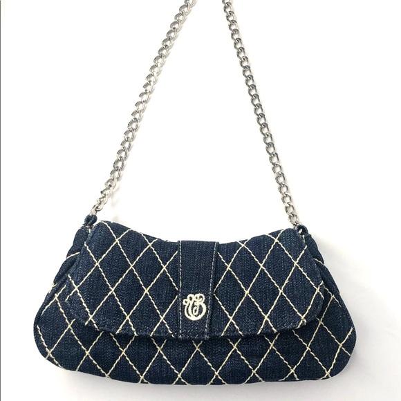 Vera Bradley Handbags - 👛2/$50 Vera Bradley Blue Denim Mini Bag